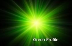 green profile